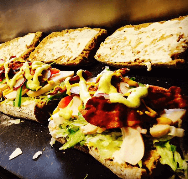 Café Charlies sandwich