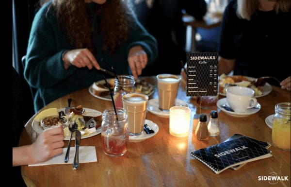 Café Sidewalk studierabat