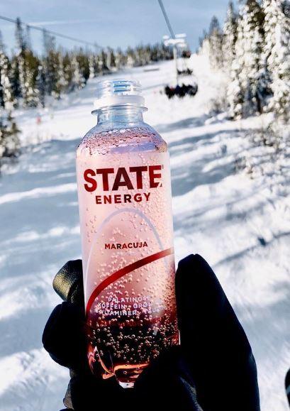 State drinks ski