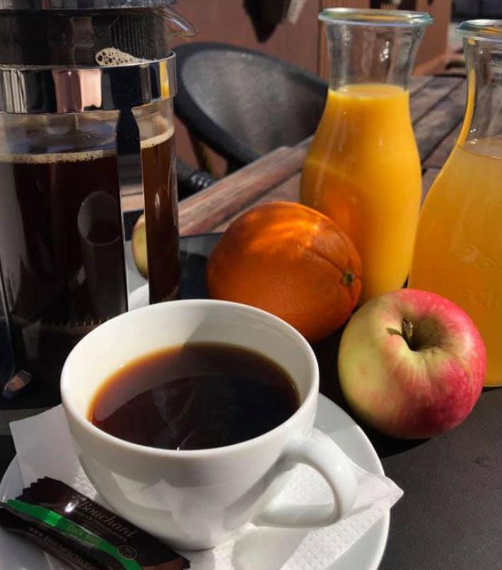 Café Frederik Kaffe, morgenmad