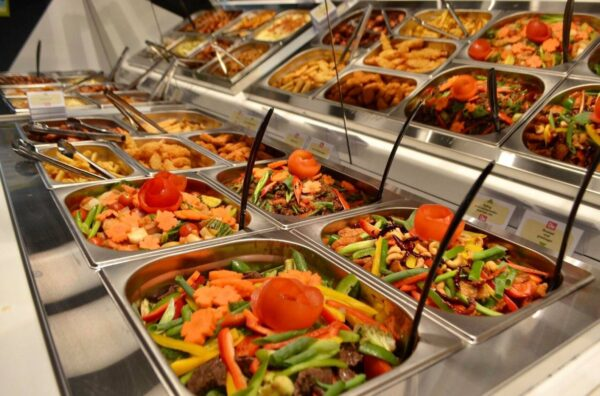 D'let - Det grønne køkken buffet